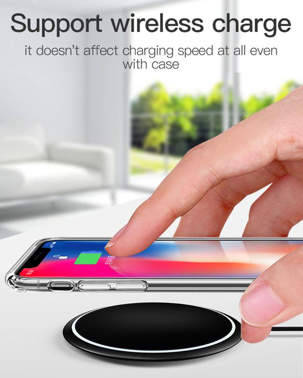 ốp lưng iphone xr cứng trong suốt totu fairy