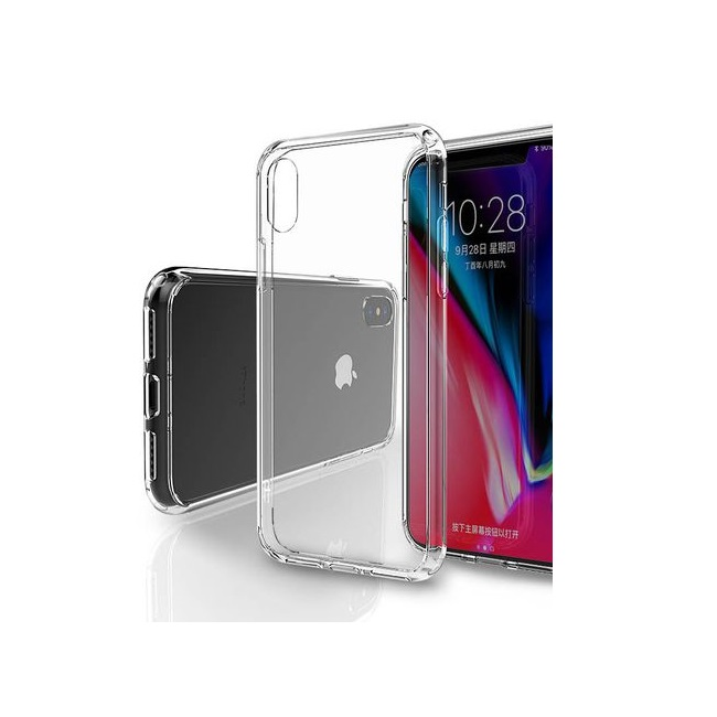 Ốp lưng trong suốt Silicon Iphone Xs Max Likgus chống sốc